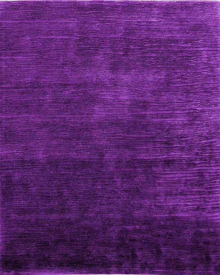 solid purple shore rug
