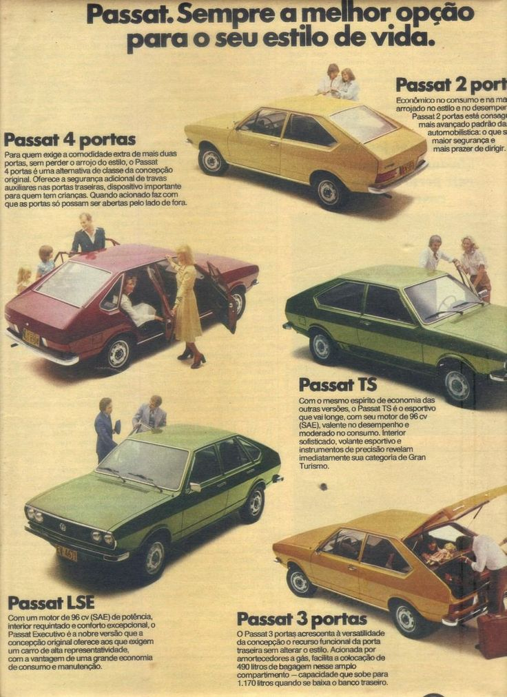 propaganda carro antigo passat