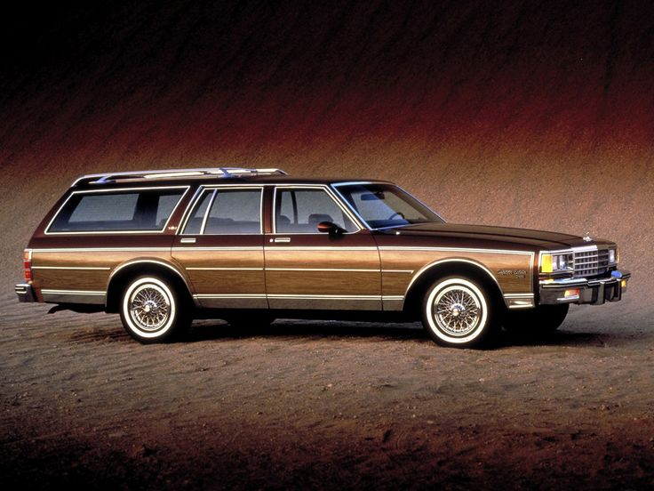 1980 Chevrolet Caprice Classic Estate Wagon