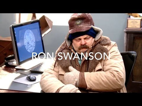 (15) The Best Of Ron Swanson (Parks and Recreation) - YouTube