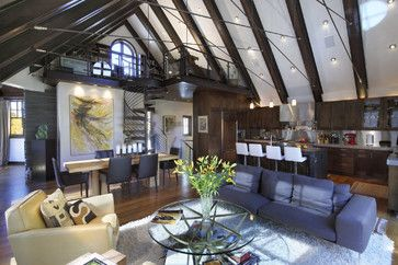 Loft Design Ideas, Pictures, Remodel, and Decor - page 7