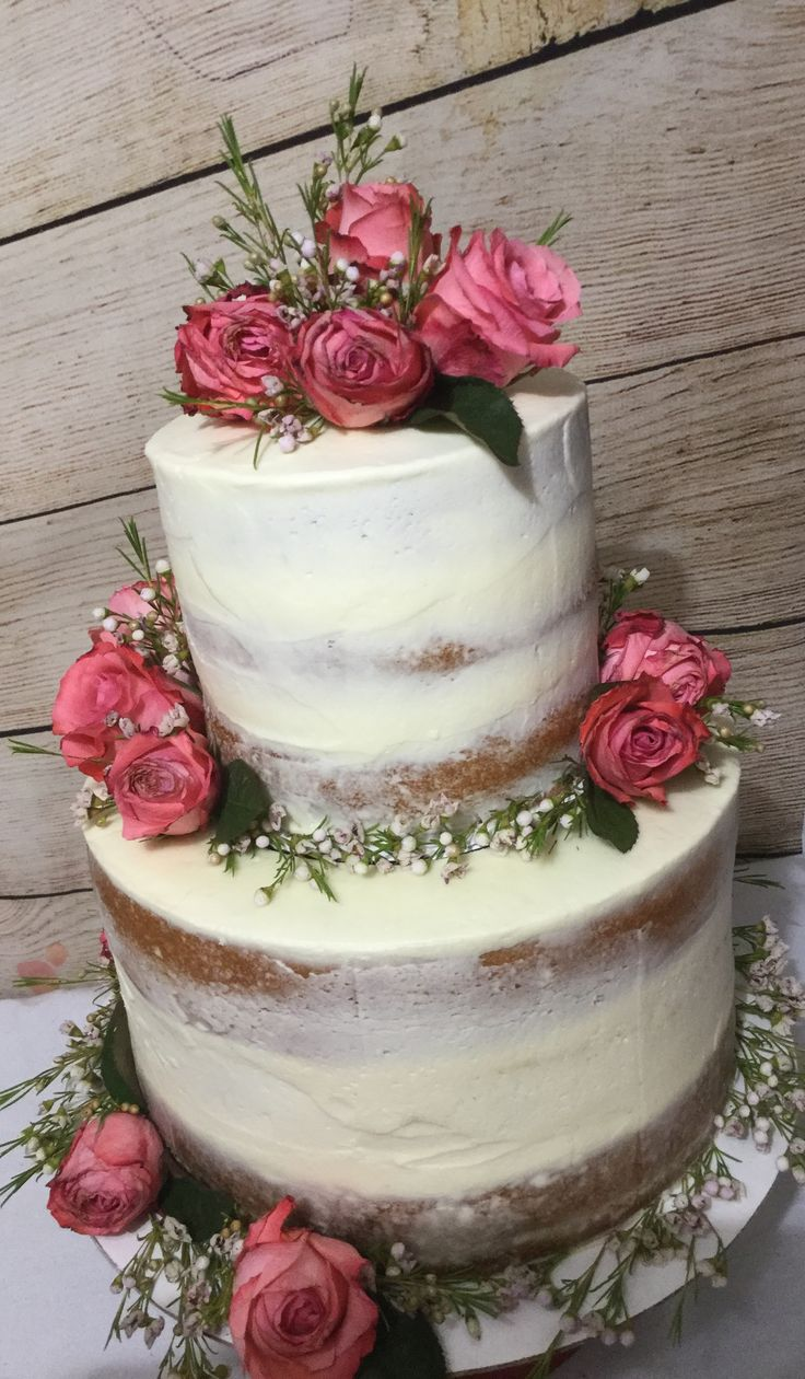 Sheernaked wedding cake design North Richland Hills