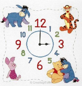 Winniethe Pooh Clock - Anchor