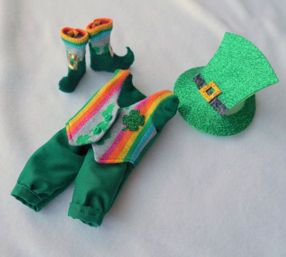 Leprechaun Costume for St. Patty's by FlavorsofmyRainbow on Etsy