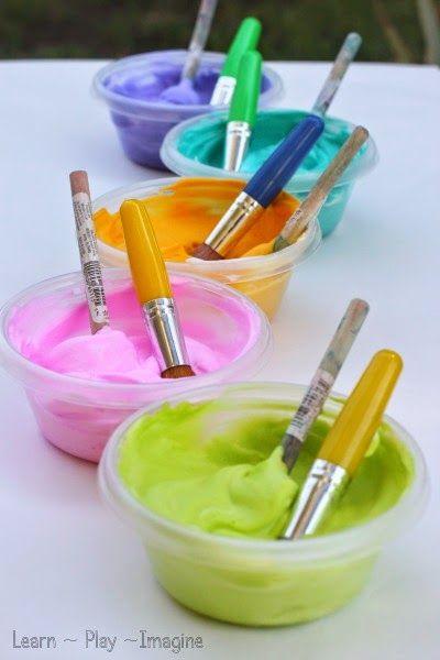 21 best images about shaving cream on pinterest bathtub for Shaving cream paint