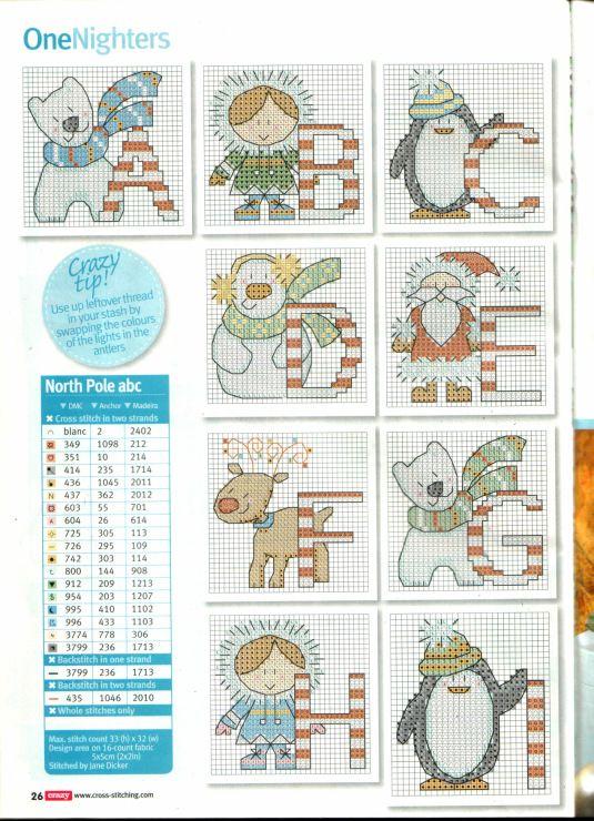 Alfabeto (Cross Stitch Crazy 169)