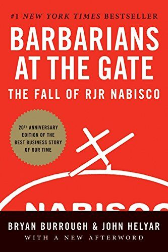 The leveraged buyout of the RJR Nabisco Corporation for $25 billion is a landmark in American business history. This book details the fascinating story.