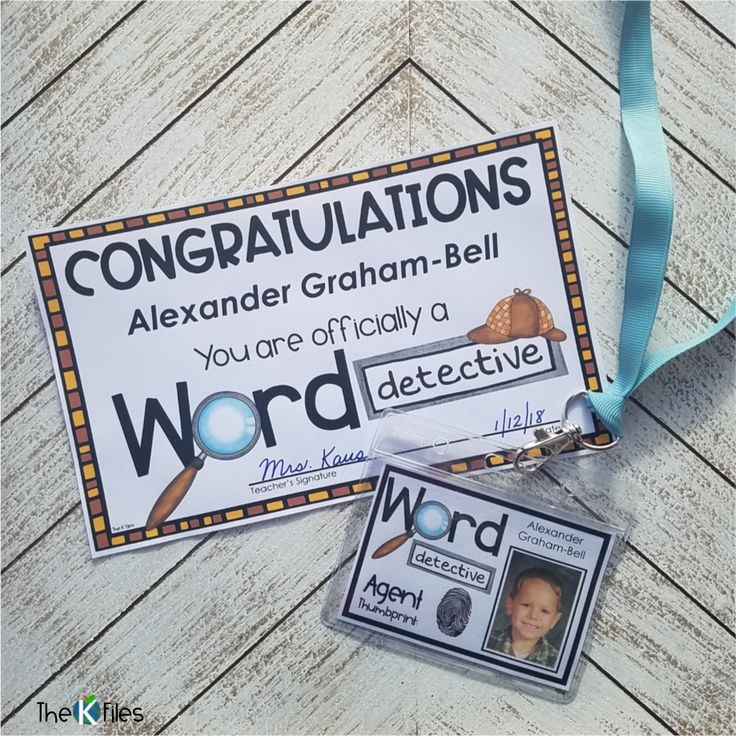 These editable Word Detective Badges and Certificates are an exciting tool to motivate your students during Reader's Workshop as they decode unfamiliar words!