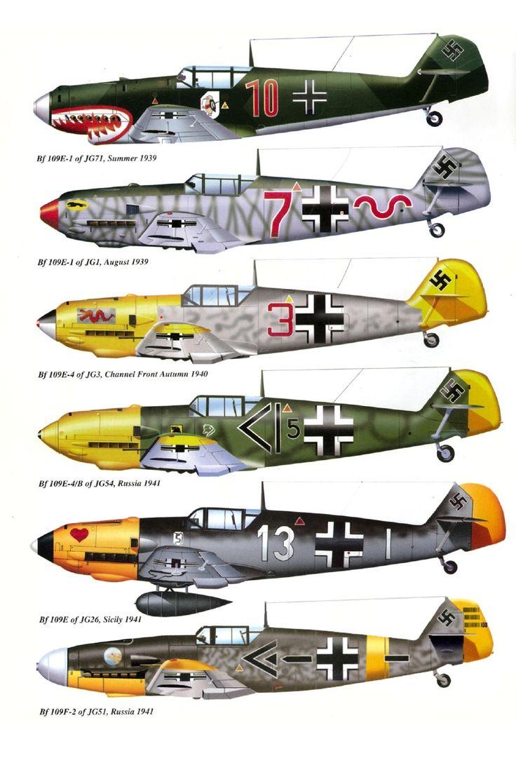 This plane has got style! Messerschmitt Bf 109