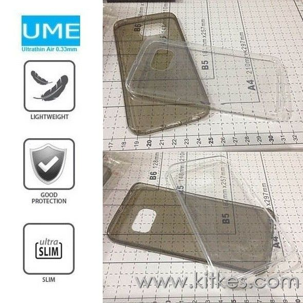 Ume Ultrathin Air Soft Case 0.3mm Samsung Galaxy S6 Edge - Rp 80.000 - kitkes.com