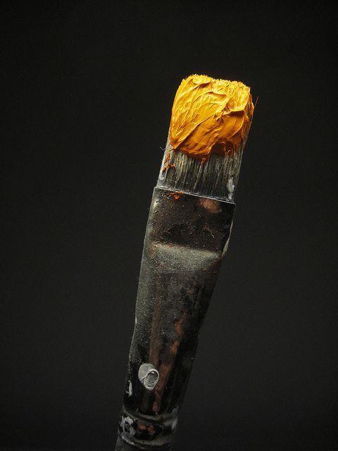 Saffron on Black.  wasbella102