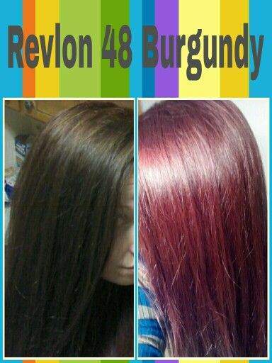 Revlon 48 Burgundy Hair Color Cherry Coke Cherry Cola