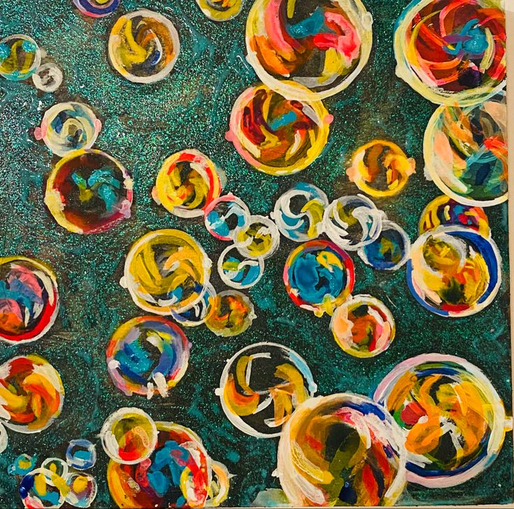 Bubbles in 2020 Artist at work, Art, Trippy backgrounds