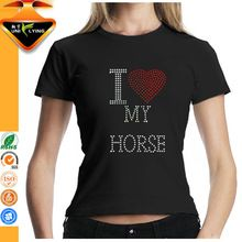 I Love My Horse Custom Women 100 Cotton T shirts best seller follow this link http://shopingayo.space