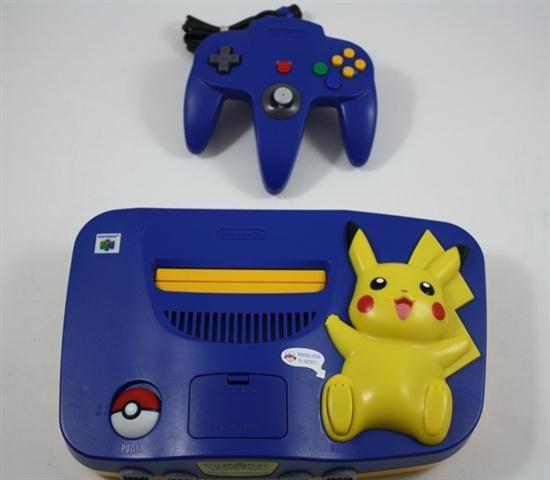 Pokemon Nintendo 64 System Console Refurbished