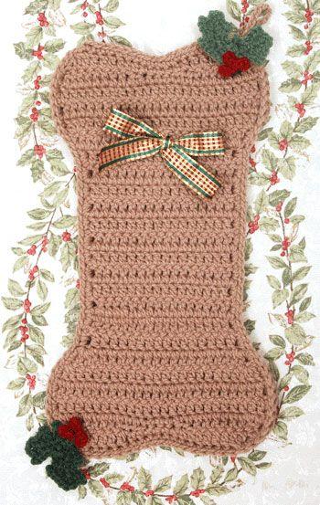 Free Dog Christmas Stocking Crochet Pattern : 1000+ images about Crochet: Seasonal on Pinterest ...