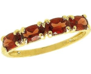 diViene  14K Yellow or White Gold Petite Oval Gemstone Stackable Ring-Garnet-full, half sizes from 5-8.5  5.0 out of 5 stars    Suggested Price: $225.00  Price: $195.00 - $215.00