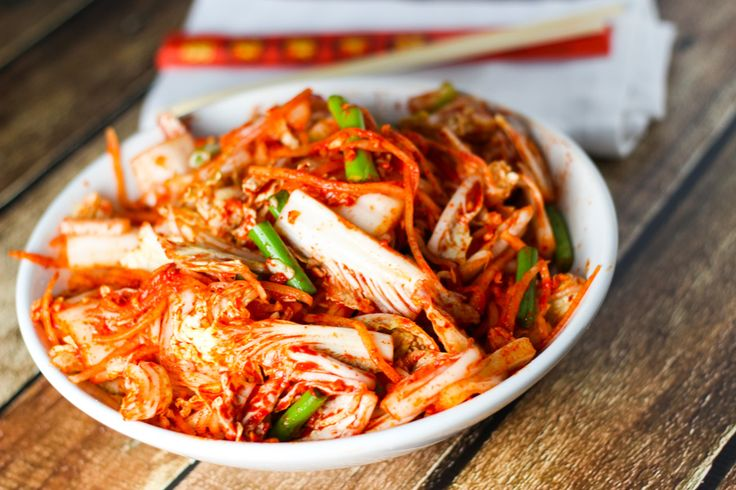 Learn how to make authentic Korean Kimchi (Kimchee) at home. It's easy to make this traditional Korean condiment with these simple steps!