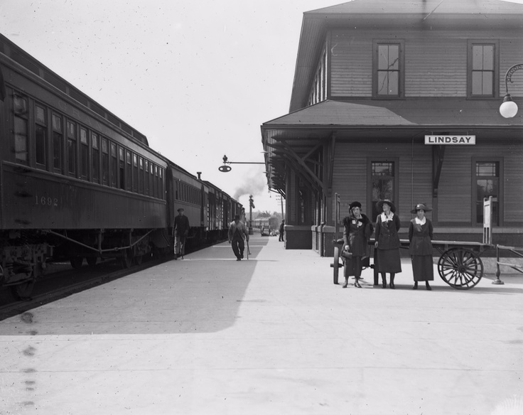 Railway Station, Lindsay, Ontario