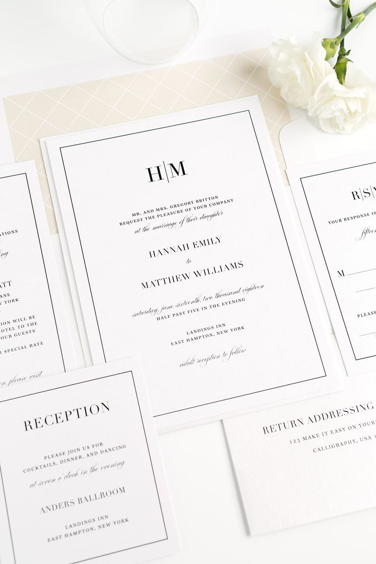 Best 25 Traditional wedding invitations ideas – Traditional Wedding Invitations