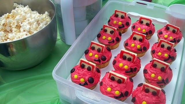 Cute Cars Cupcakes