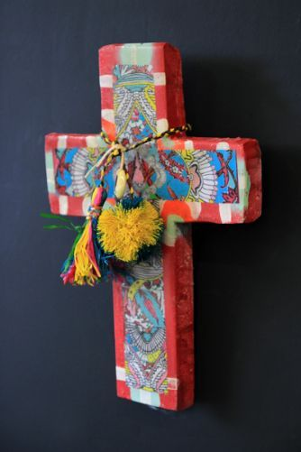Jai Vasicek Art Cross - Red
