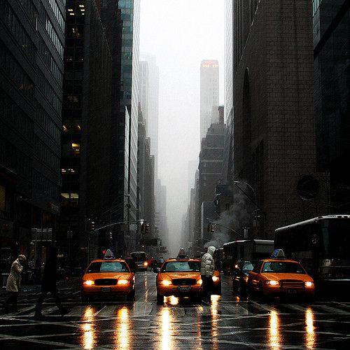 Gloomy New York