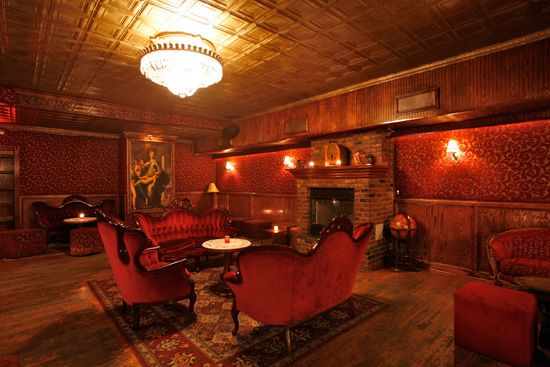 The Back Room New York Thomas Edison S Stag Party