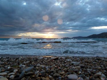 "Saatchi Art Artist Mellissa Briley; Photography, ""Light After a Storm"" #art #photography #Greece"