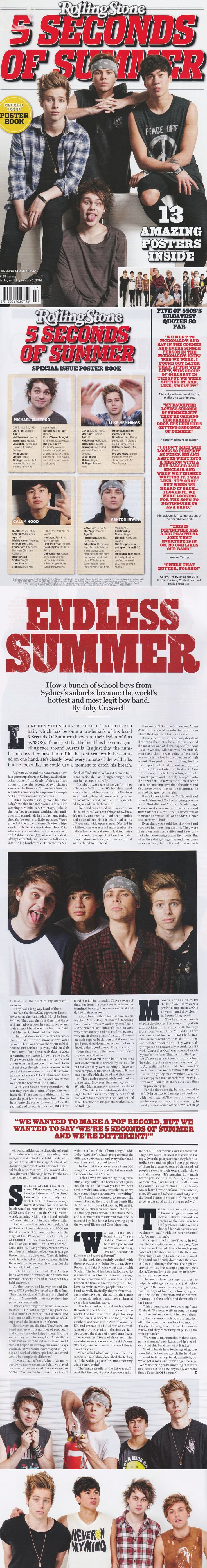 5SOS in Rolling Stone crying bawling yes. yes. but they called them a BOY BAND...how about no!  WHERE DO I BUY?