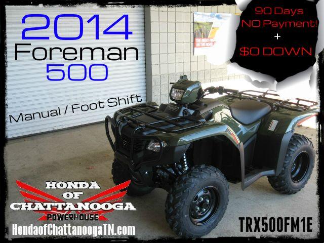 2014 Foreman 500 Trx500fm1e Sale Price At Honda Of Ch
