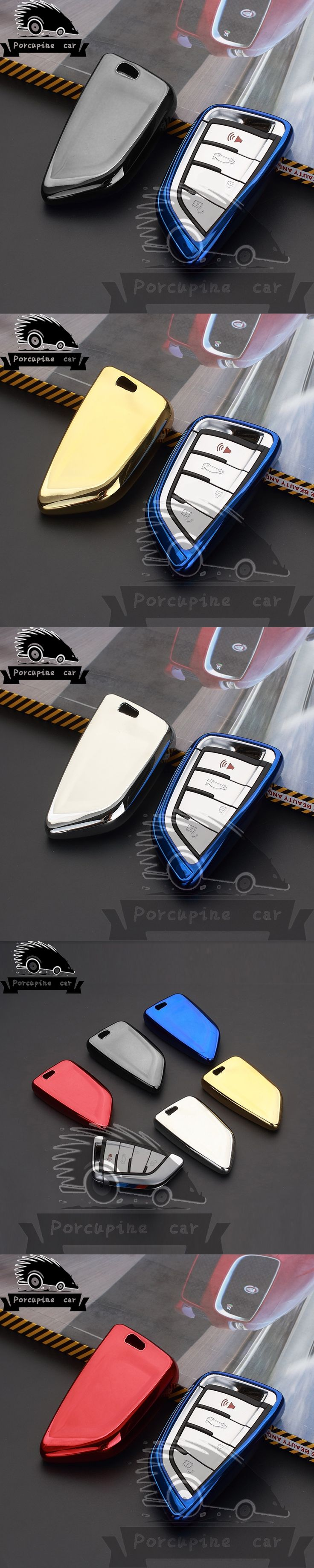 High quality TPU car key holder car key case auto-cover keychain For BMW 2