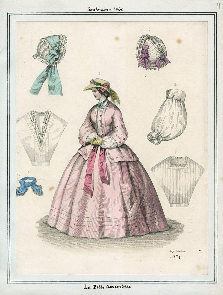 September, 1860 - La Belle Assemblee