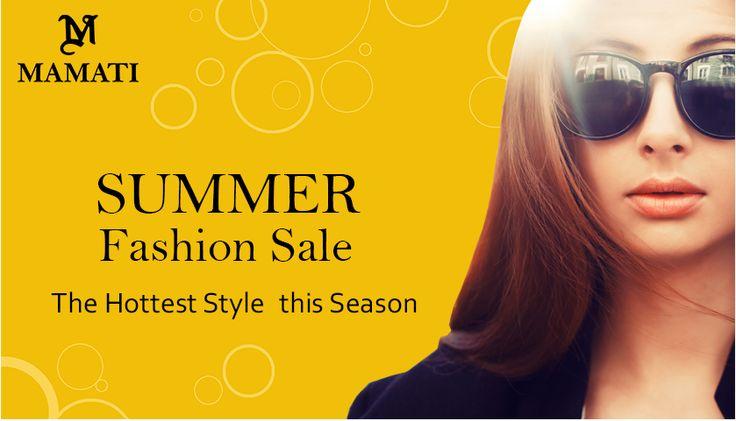 Mamati the Best Ladies and Kids Fashion Brand of U.A.E Summer fashion Sale Here : www.mamati.com