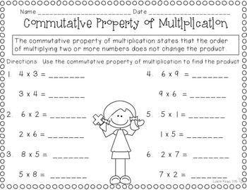 17 best ideas about commutative property on pinterest teaching multiplication facts. Black Bedroom Furniture Sets. Home Design Ideas