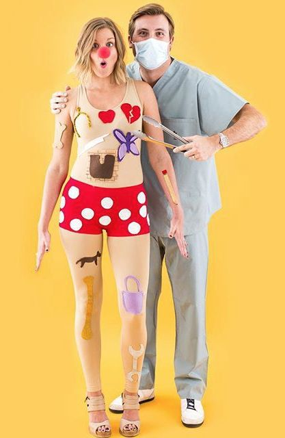Creative adult halloween costume