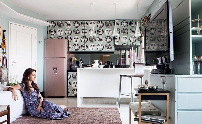como decorara cozinha no mesmo ambiente que a sala - Pesquisa Google