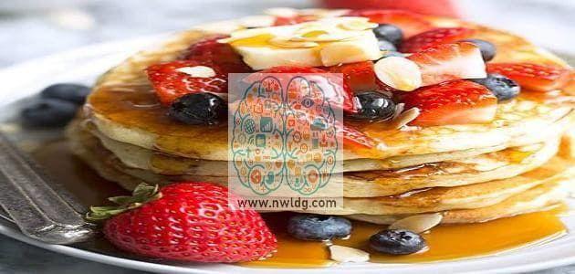 البان كيك الأمريكي American Pancakes Food Pancakes