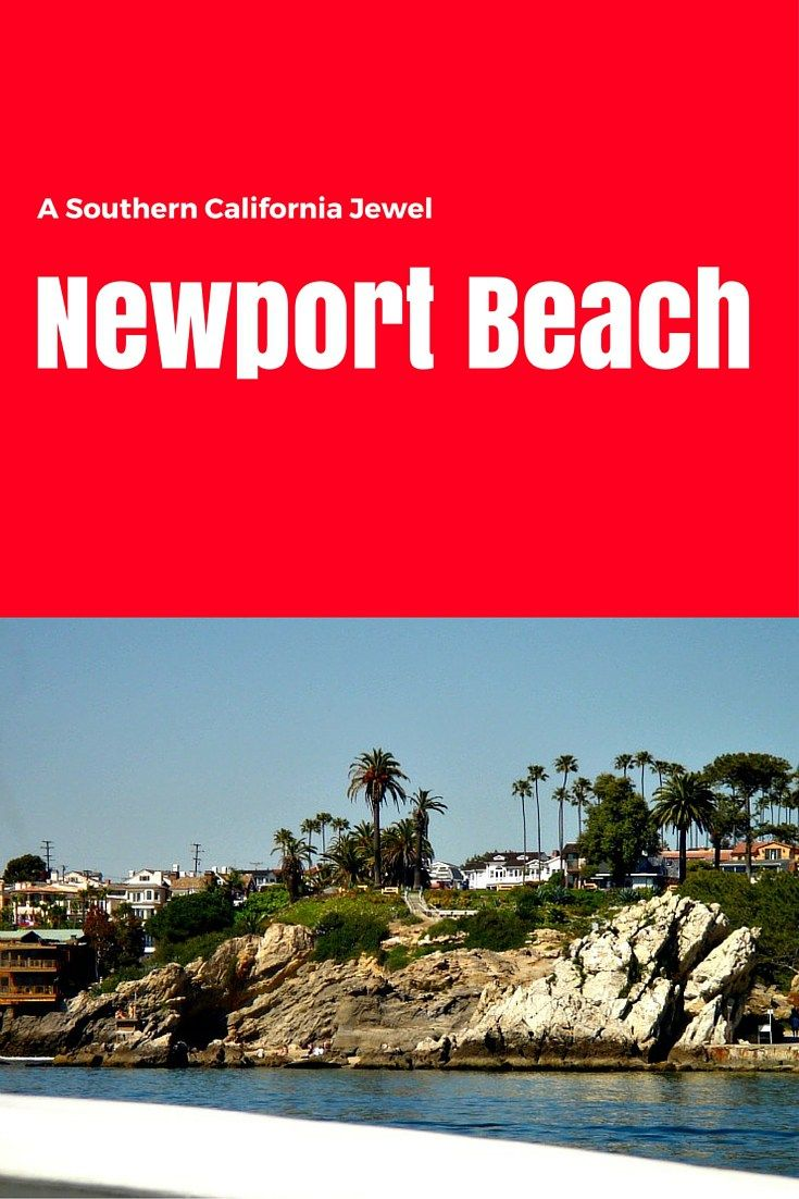 Orange County's Newport Beach is a California Jewel. I love everything about it: the rugged coastline, the upscale shopping, delicious restaurants, yummy wine, art finds, history, movie settings, and then there is Disneyland right down the road. Yep, southern Cal is #1 in my book.