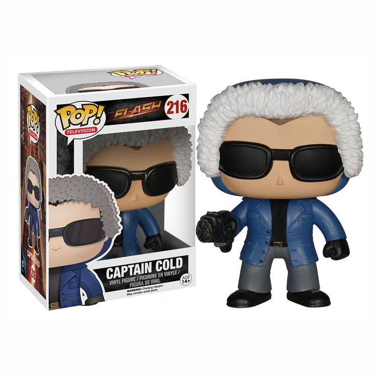 This is a Captain Cold POP Vinyl Figure that is produced by Funko. It's Captain Cold based on his appearance in the recent television show The Flash. Super cool! It's great to see that Funko decided t