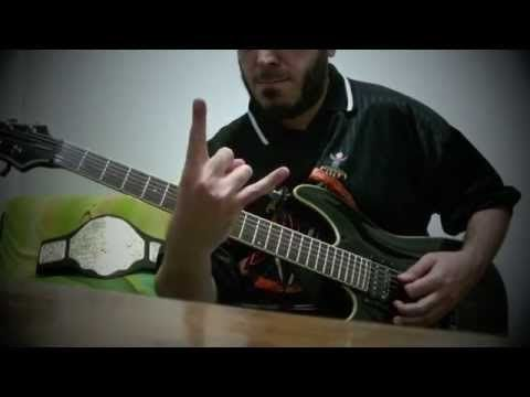 FEAR FACTORY - The industrialist - Guitar cover