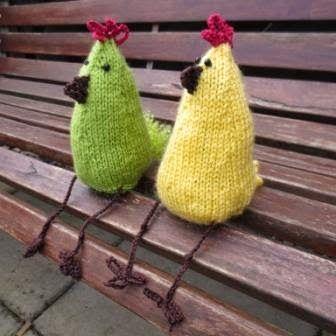 Fat-Quarter: Easter chickens
