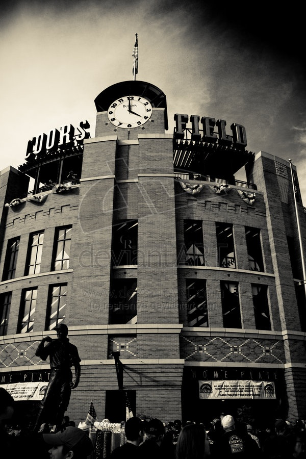 Coors Field - Denver - Who wouldn't love a stadium named after Coors?!