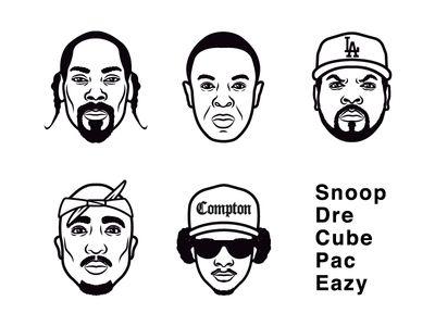 West Coast Rap Legends