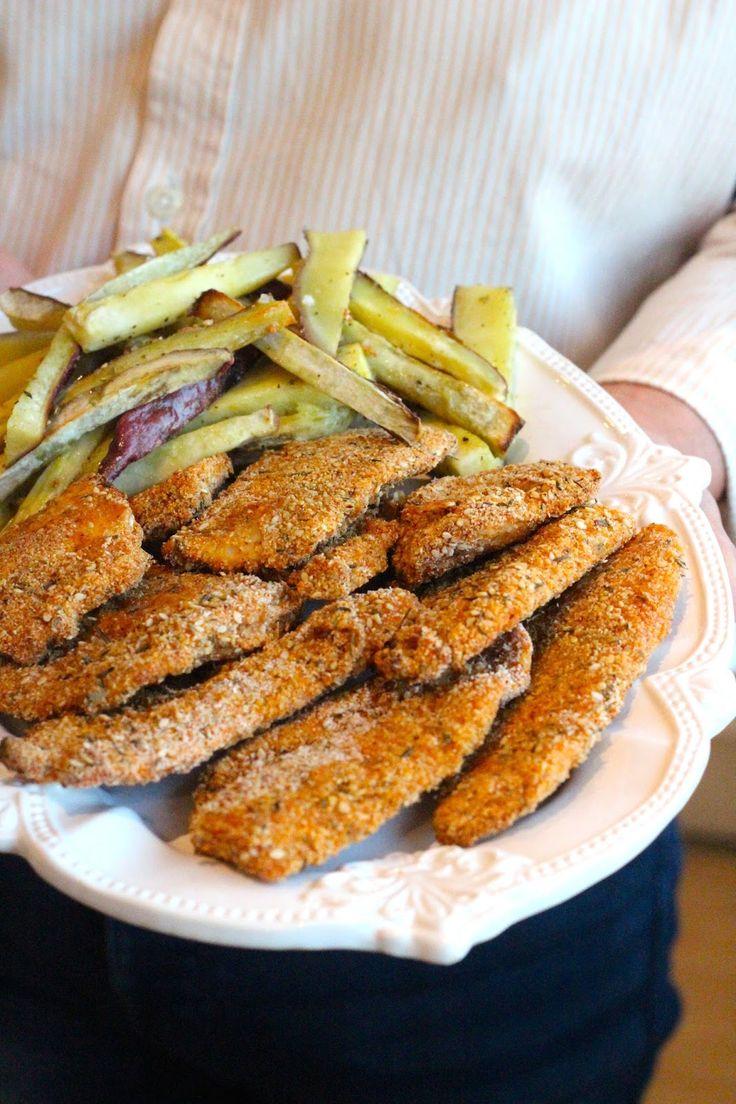 Filetes de Pescada Crocantes no Forno