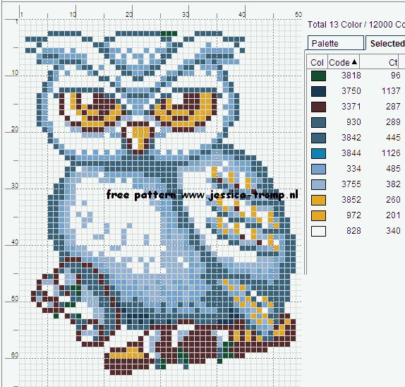 137 Free cross stitch designs owls stitchingcharts borduren gratis borduurpatronen uilen kruissteekpatronen