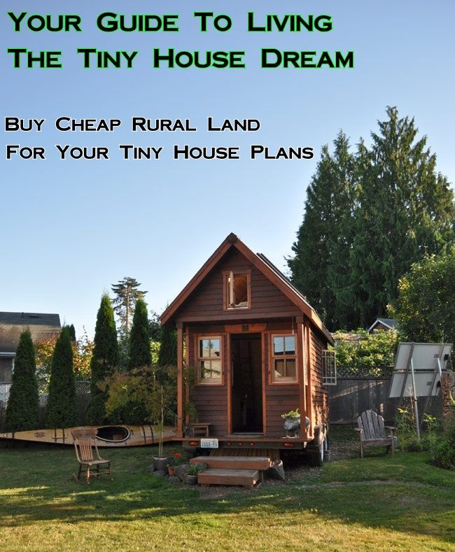 how to build a tiny house in your backyard