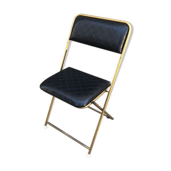 Belle Chaise Pliante Lafuma France Design Vintage 70 Etiquette Toujours Presente Au Dessous Voir Photos Structur Chaise Pliante Chaise Pliante Design Chaise