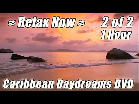 CARIBBEAN VACATION #2 Relaxing Virtual Beach Resort Cruise Soothing Ocean Waves Sounds HOUR Playlist