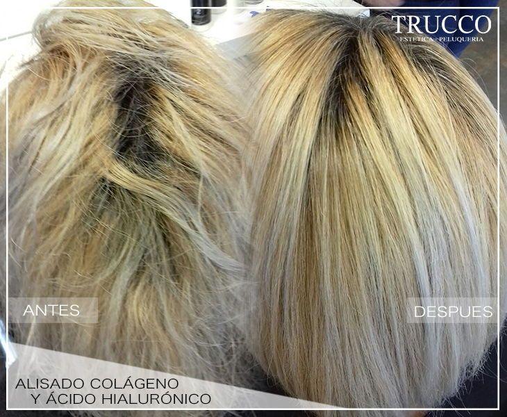 Alisado De Colágeno Y ácido Hialurónico Facilita El Peinado Y Reduce El Encrespamiento Alisado Antiencrespamiento Est Centro De Estetica Peinados Estetica
